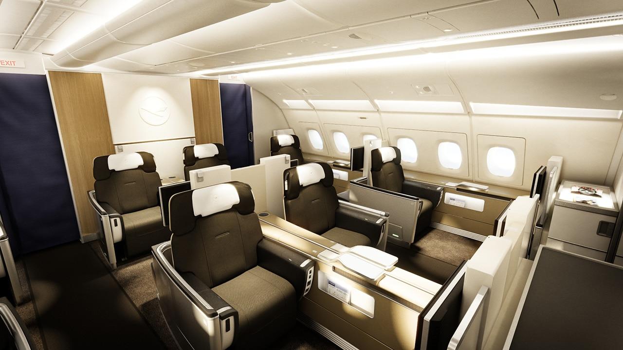 Lufthansa erste klasse