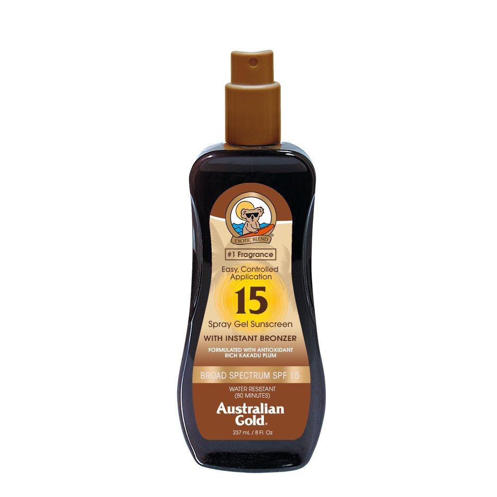 Australian Gold Sonnenschutz Spray with Bronzer SPF 15, 237 ml