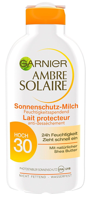 Garnier Ambre Solaire delial mleko LSF 30, 3-pack (3 x 200 ml)