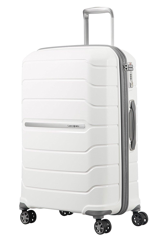 SAMSONITE Flux - Spinner 68/25 Expandable Bagage cabine, 68 cm, 95 liters, Weiß
