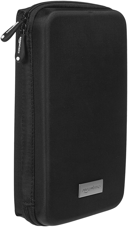 AmazonBasics Universaltasche für elektronische Kleingeräte (z.B. Spielekonsolen, TomTom Navi)