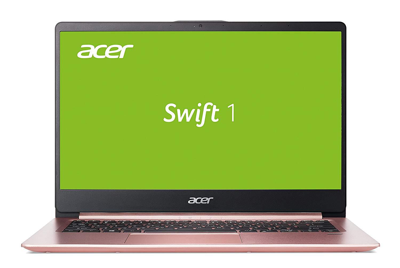 Acer Swift 1 (SF114-32-P6SW) 35,6 cm (14 Zoll Full-HD IPS matt) Ultrabook (Intel Pentium N5000, 8 GB RAM, 256 GB SSD, Intel UHD, Win 10) roségold