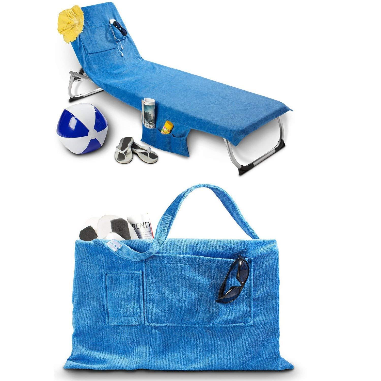 Beachbag Strandtasche oder Strandtuch Original! Blau