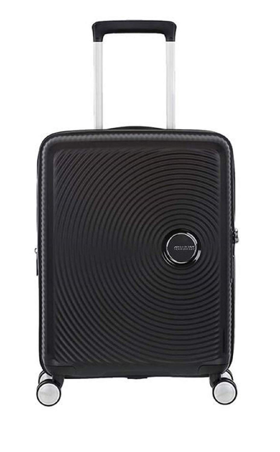 American Tourister - Soundbox Spinner Erweiterbar, 55cm, 35,5/41 L - 2,6 KG, Schwarz (Bass Black)