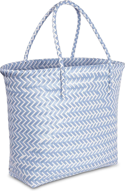normani Große Strandtasche/Einkaufstasche - Picknicktasche - pflegeleicht 16 Liter