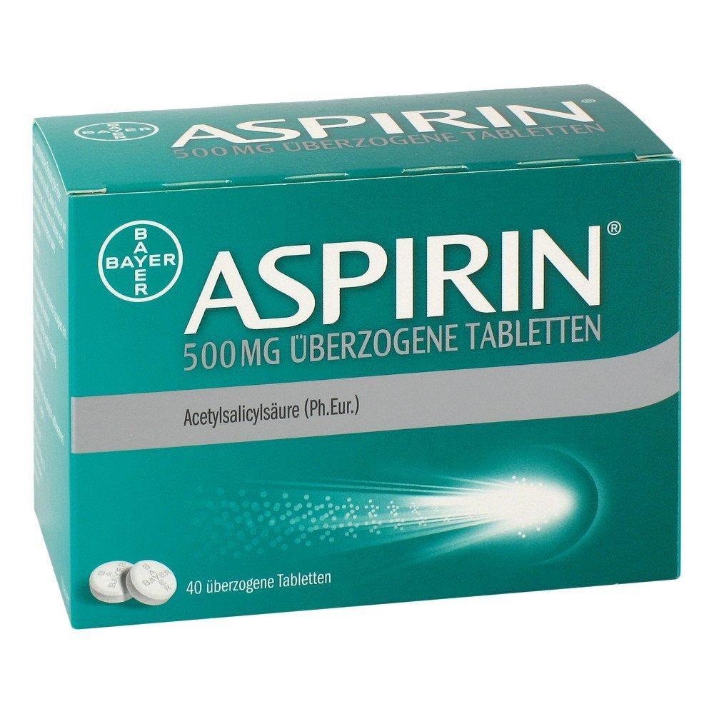 Aspirin 500mg 40 stk