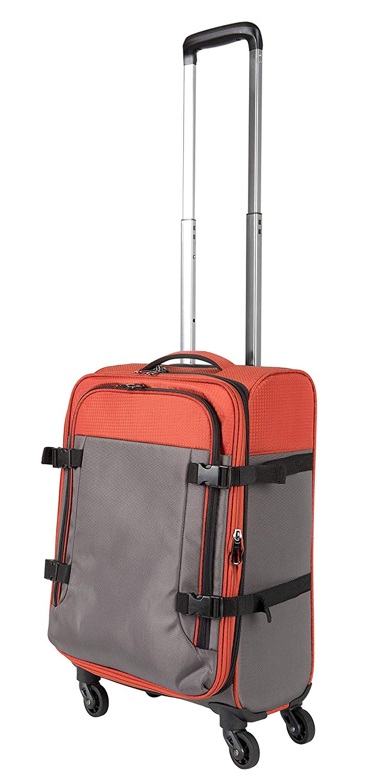 Pack.It Leichtgewichtiger Trolley, mit 360° drehbaren 4 Rollen, Genehmigt für Ryanair, Easyjet und Lufthansa
