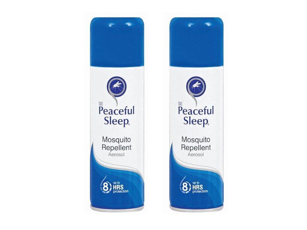 Peaceful Sleep Insektenschutzmittel Aerosol 150ml x 2