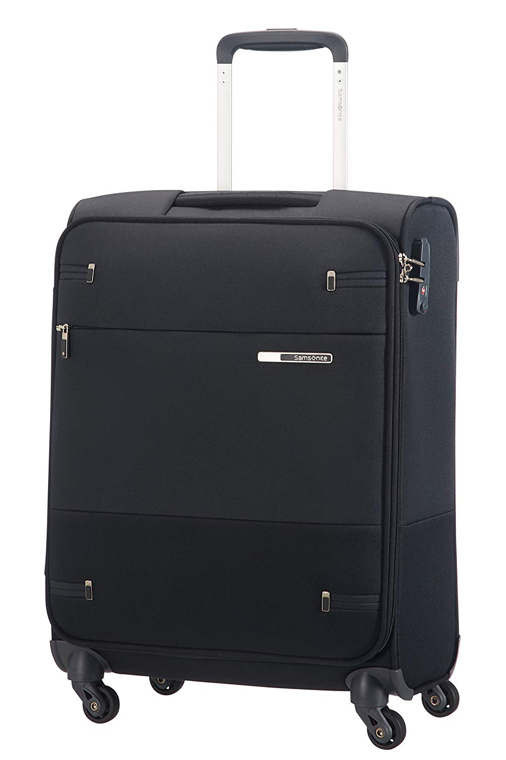 SAMSONITE Base Boost - Spinner 55 Koffer, Length 40 cm, 39 Liter, Schwarz (Black)