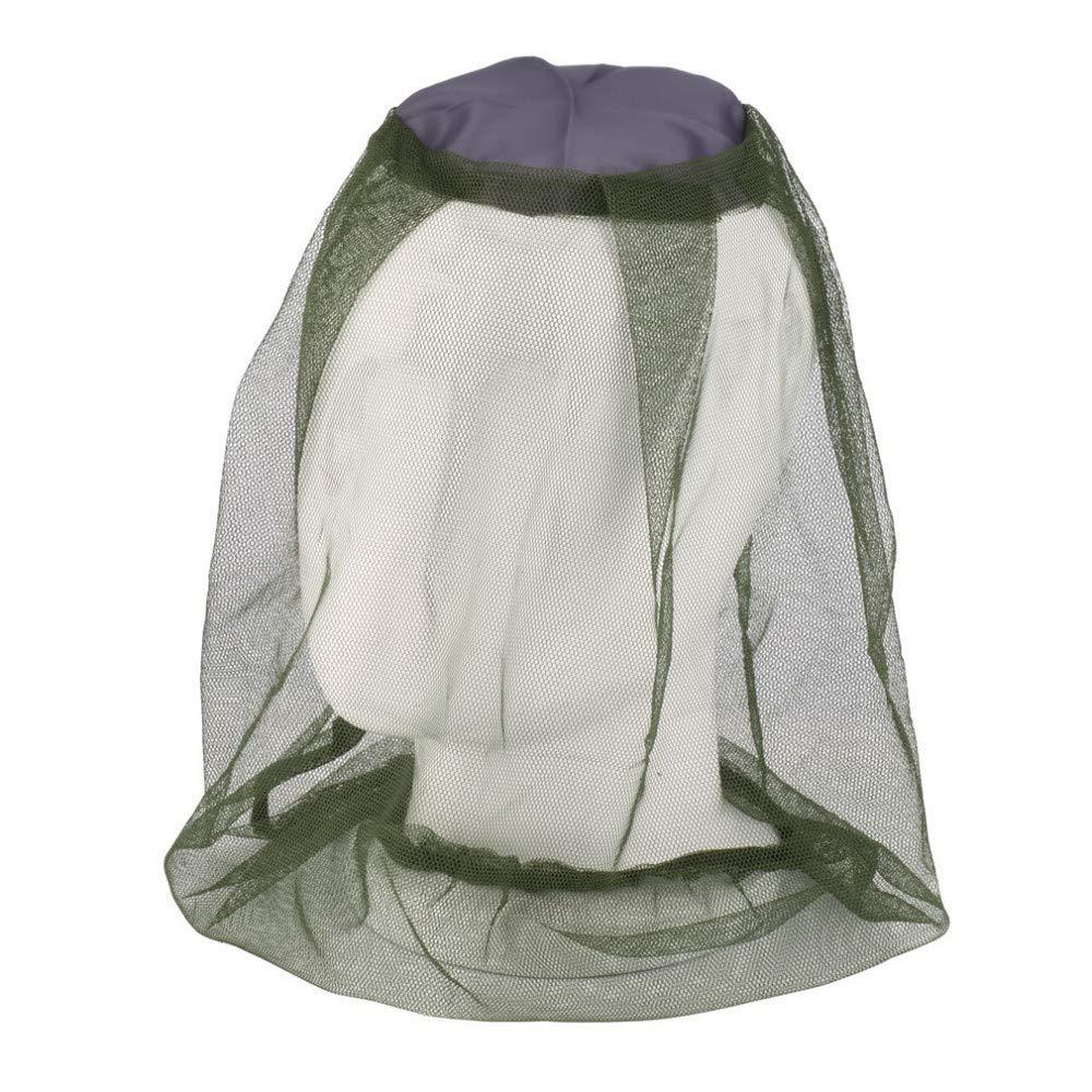 WOVELOT Moskito Maske Moskito Kopf Netz Gesicht & Nackenschutz - Outdoor Moskitonetz Camping Hut