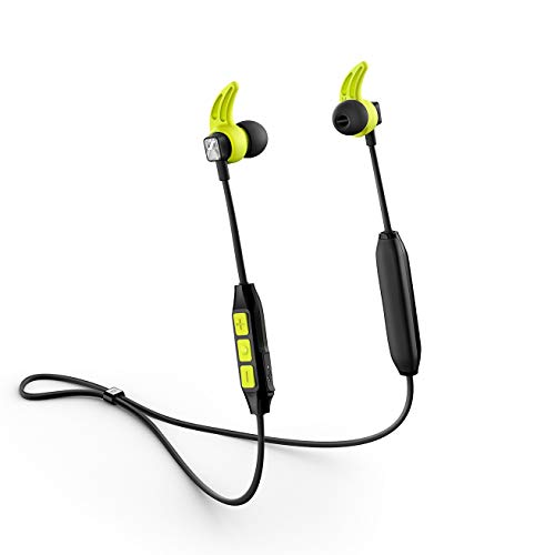 Sennheiser CX Sport Bluetooth In-Ear Wireless Sports Headphon, black/yellow
