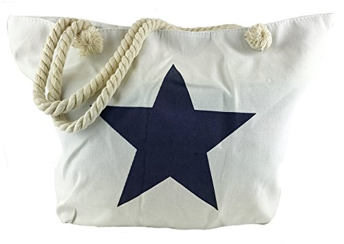 Worldclassca DAMENTASCHE XXLStrandtasche aus Baumwolle