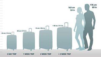 5 Cities Ryanair Handgepäck 35x20x20cm & aufgegebenes Gepäck 55x35x20cm Set - Nehmen...