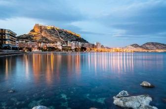 Alicante Spanien interessante Orte