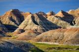 Badlands in South Dakota