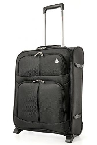 Aerolite 55x40x20 Ryanair Höchstbetrag 2 Rollen 42L Leichtgewicht Handgepäck Trolley Koffer Bordgepäck...
